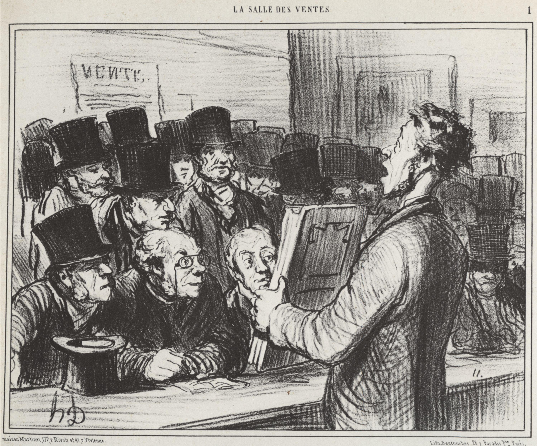 16_Daumier Salle des Ventes