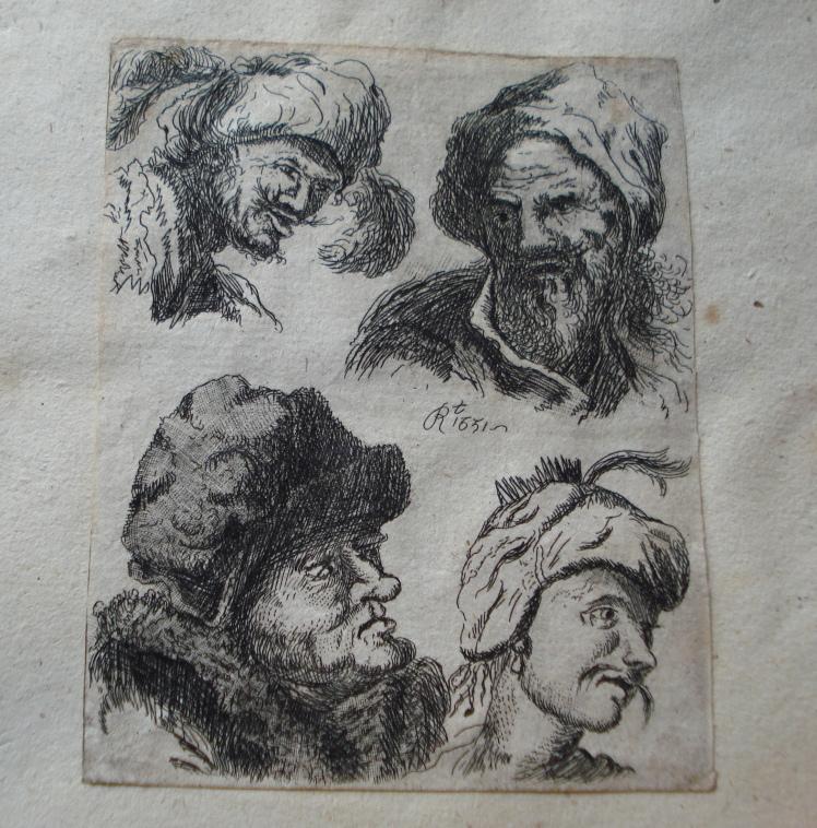 C_Rembrandt Etching