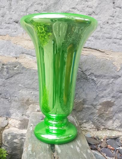 Mercury Glass vase 1