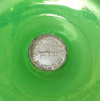 Mercury Glass vase 9