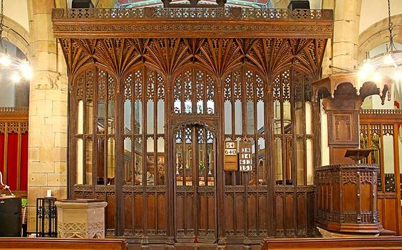 southwell rood screen