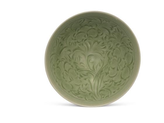 26_Yaozhou Peony Bowl