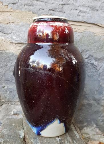 Flambe Vase 6