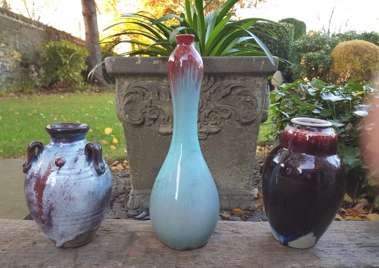 flambe vases