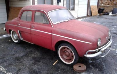 Source: https://barnfinds.com/know-a-little-french-1963-renault-dauphine/