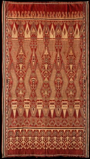 Ikat - Serwak - Baleh - Ripung motif - Kreifeldt