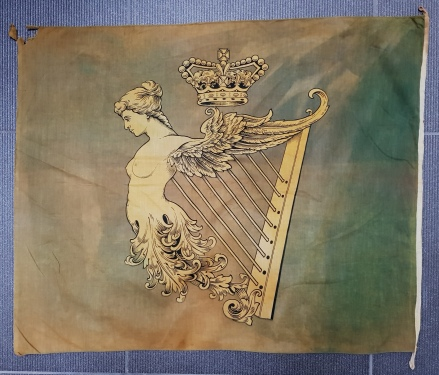 Irish harp flag
