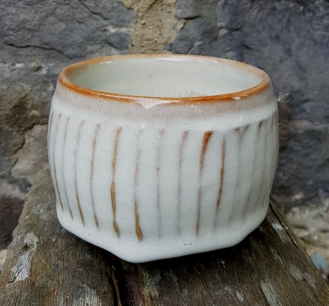 A chawan made by Alex in retirement in Glasgow. Personal AS seal on the base