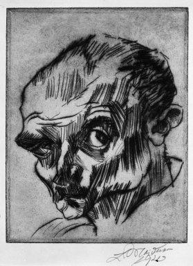 meidner self-portrait