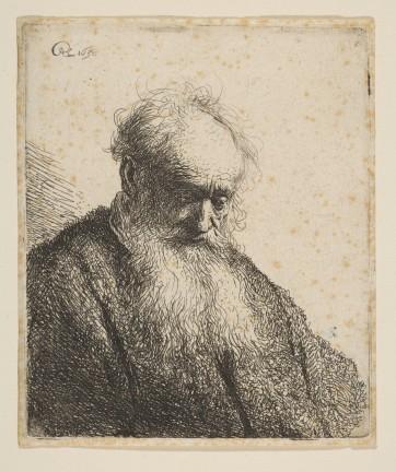 rembrandt old man