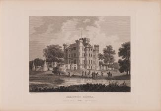 Eglinton Castle in 1804