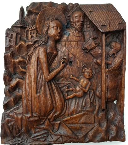 Nativity panel