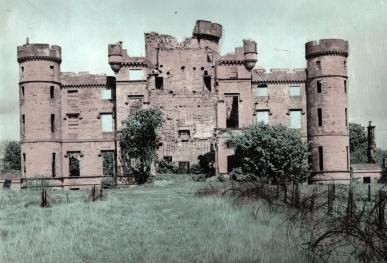Eglinton Castle in the 1950s