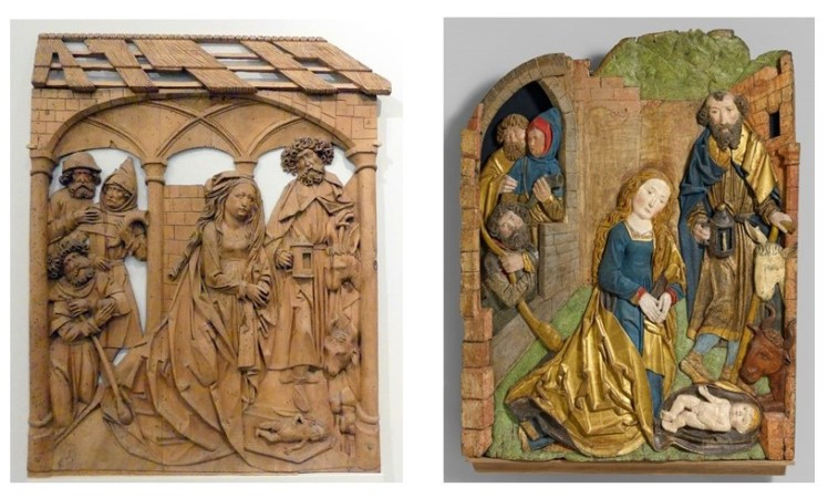 Riemenschneider Nativity comparison