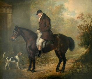Charles_Loraine_Smith_on_a_horse