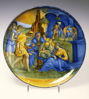 Italian_-_Dish_with_the_Adoration_of_the_Shepherds_-_Walters_481487