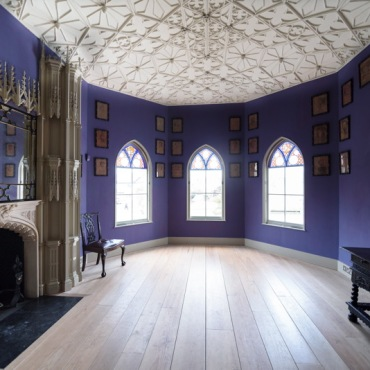 Strawberry-hill-house blue room