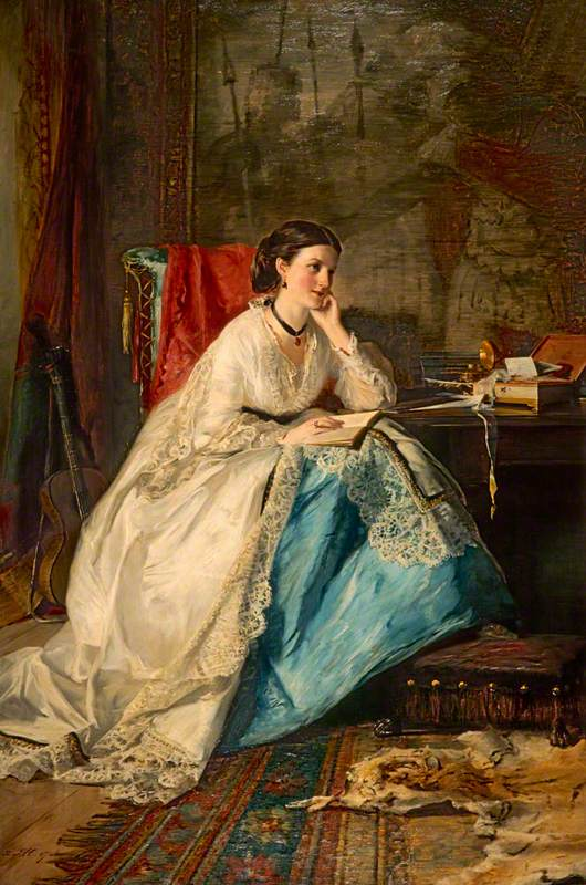 Herdman, Robert, 1829-1888; Emily Merelina Meymott (1830-1911), Baroness Shand